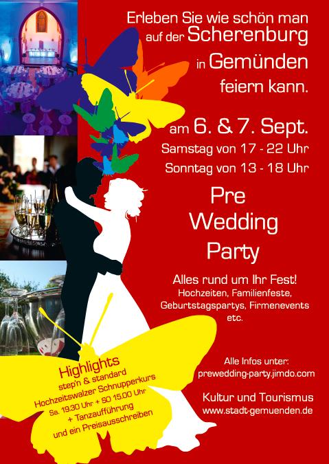 Hochzeitsmesse - Pre-Wedding-Party in Gemünden