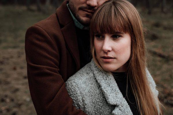 Couple-Shooting im Wald